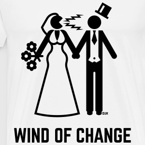 Wind Of Change (Stag Night, Bachelor Party, Groom) - Men's Premium T-Shirt