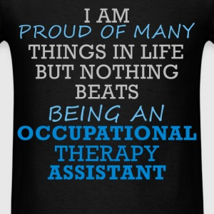 Occupational Therapy Assistant - I am proud of man - Men's T-Shirt