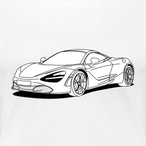 720s Coupe filled in T-Shirts - Women's Premium T-Shirt