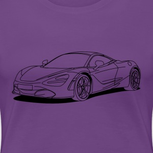 720s outline T-Shirts - Women's Premium T-Shirt