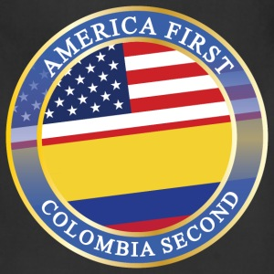 AMERICA FIRST COLOMBIA SECOND Aprons - Adjustable Apron