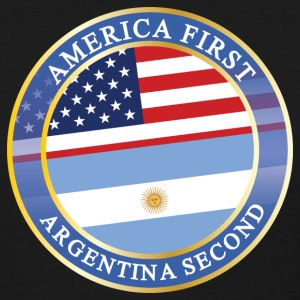 AMERICA FIRST ARGENTINA SECOND T-Shirts - Women's T-Shirt