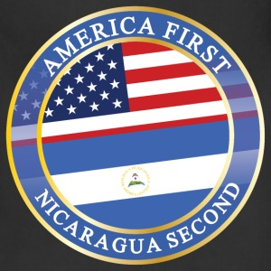 AMERICA FIRST NICARAGUA SECOND Aprons - Adjustable Apron