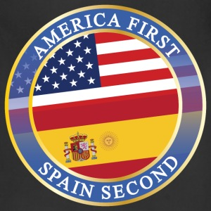 AMERICA FIRST SPAIN SECOND Aprons - Adjustable Apron