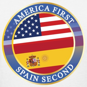 AMERICA FIRST SPAIN SECOND T-Shirts - Women's T-Shirt