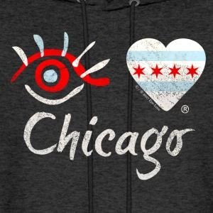 Eye-Love Chicago - Men's Hoodie