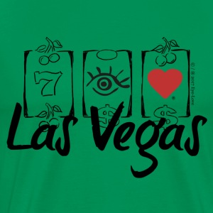 Eye-Love Las Vegas - Men's Premium T-Shirt