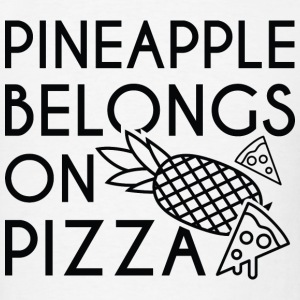 Pineapple Pizza - Men's T-Shirt