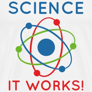 Science It Works! - Men's Premium T-Shirt