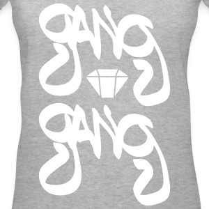 gang gang T-Shirts - Women's V-Neck T-Shirt