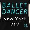 New York, NY 212 Ballet Dancer T-shirt Clothing by Stephanie Lahart.  - Women's T-Shirt