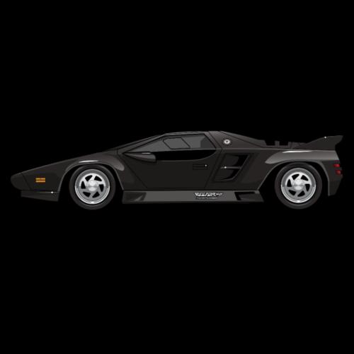 Vector W8 Twin Turbo Black