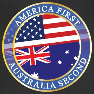 AMERICA FIRST AUSTRALIA SECOND Aprons - Adjustable Apron
