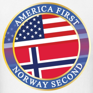 AMERICA FIRST NORWAY SECOND T-Shirts - Men's T-Shirt