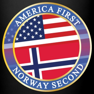 AMERICA FIRST NORWAY SECOND Mugs & Drinkware - Full Color Mug