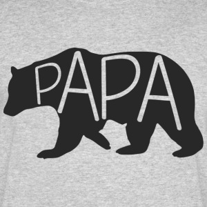 Papa Bear Men's Tee - Men's 50/50 T-Shirt