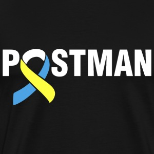 Down Syndrome Postman T-Shirts - Men's Premium T-Shirt