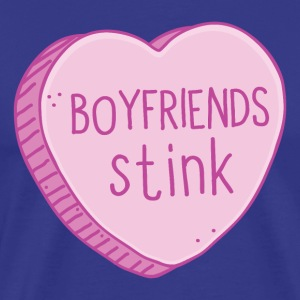 boyfriends stink  T-Shirts - Men's Premium T-Shirt