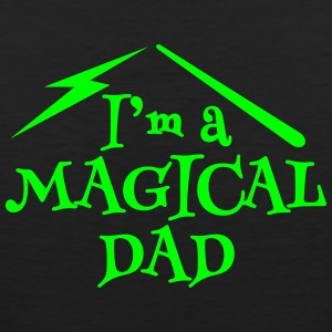 I'm a magical DAD with magic wand Sportswear - Men's Premium Tank
