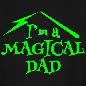 I'm a magical DAD with magic wand T-Shirts - Men's Tall T-Shirt