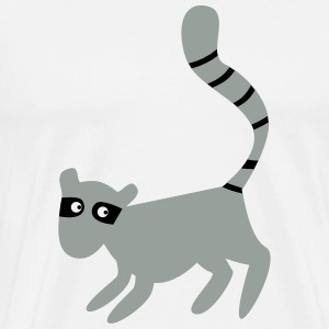 new tall lemur with a long tail T-Shirts - Men's Premium T-Shirt