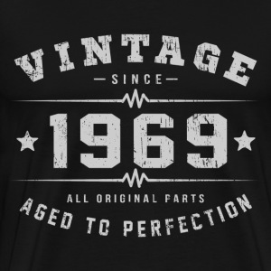 1969 Aged To Perfection T-Shirts - Men's Premium T-Shirt