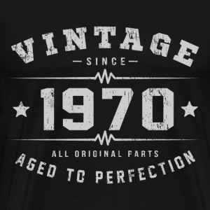 1970 Aged To Perfection T-Shirts - Men's Premium T-Shirt
