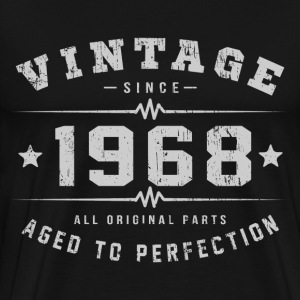 1968 Aged To Perfection T-Shirts - Men's Premium T-Shirt