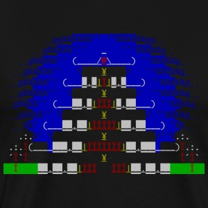 China house ascii shirt - Men's Premium T-Shirt