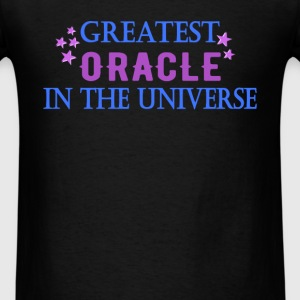 Oracle - Greatest oracle in the universe - Men's T-Shirt