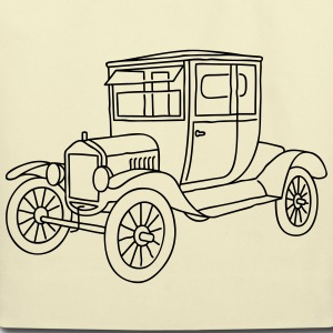 Oldtimer model T Bags & backpacks - Eco-Friendly Cotton Tote
