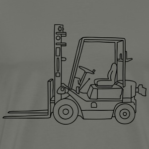 Fork-lift truck / stacker truck T-Shirts - Men's Premium T-Shirt