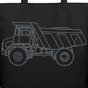Dump truck or semitrailer Bags & backpacks - Eco-Friendly Cotton Tote