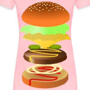 Hamburger - Women's Premium T-Shirt
