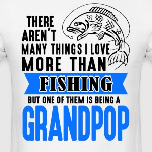 Fishing Grandpop - Men's T-Shirt