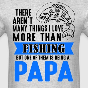 Fishing Papa  - Men's T-Shirt