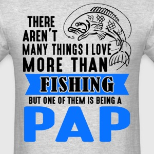 Fishing Pap  - Men's T-Shirt