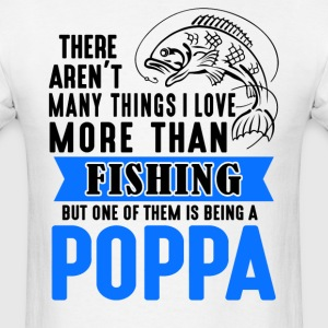 Fishing Poppa - Men's T-Shirt