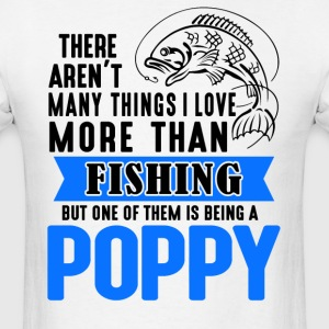 Fishing Poppy  - Men's T-Shirt