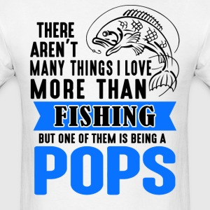 Fishing Pops  - Men's T-Shirt