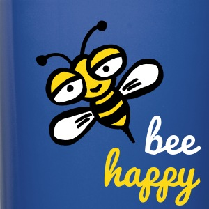 Be happy as a bee - Full Color Mug