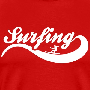 surfing T-Shirts - Men's Premium T-Shirt