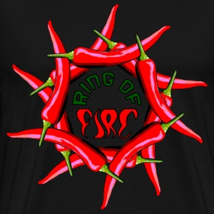 Ring Of Fire - Men's Premium T-Shirt