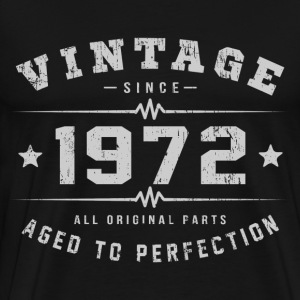 1972 Aged To Perfection T-Shirts - Men's Premium T-Shirt