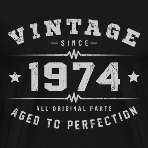 1974 Aged To Perfection T-Shirts - Men's Premium T-Shirt