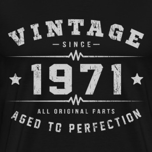 1971 Aged To Perfection T-Shirts - Men's Premium T-Shirt