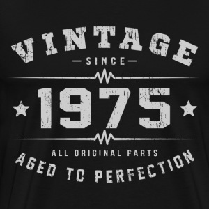 1975 Aged To Perfection T-Shirts - Men's Premium T-Shirt