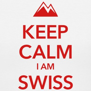 SWITZERLAND - Women's V-Neck T-Shirt