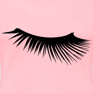 Eyelash 2 - Women's Premium T-Shirt
