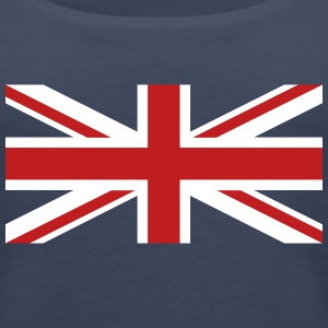Union Jack velvety Tanks - Women's Premium Tank Top